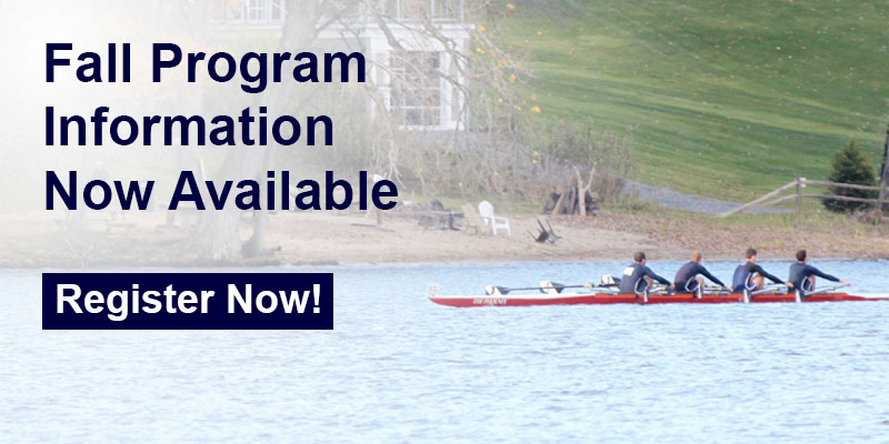 Fall Program Information now available at Greater Lawrence Rowing