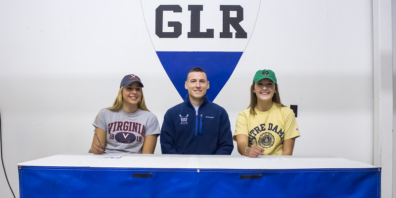 Grace Bentley, Maddy Coady NLI Signing with Coach Harry Finch