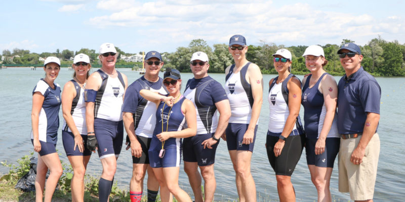 GLR Masters Compete at Royal Canadian Henley Masters Regatta
